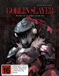Goblin Slayer - Season 1 Limited Edition (DVD/Blu-ray Combo) on Blu-ray