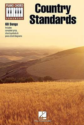 Piano Chord Songbook: Country Standards image