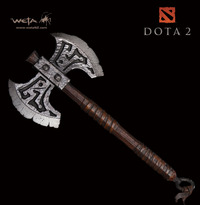 """Dota 2 Axe 11"""" Statue - by Weta (Limited Ed. 1000!)"""