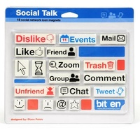 Social Talk - Magnet Set
