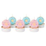 Sunnylife Tea Light Candles - Donut (Set of 6)