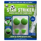 iMP Star Striker Trigger & Thumb Grips (Green) for PS4