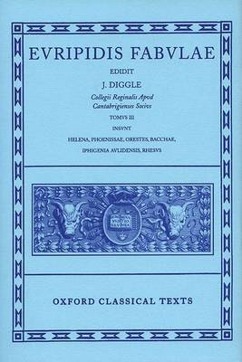 Euripides Fabulae: Vol. III by * Euripides image
