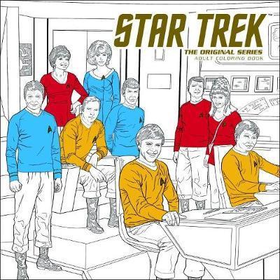 Star Trek: The Original Series Adult Coloring Book by CBS