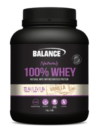 Balance 100% Whey New Formula Natural - Vanilla (1.5kg)