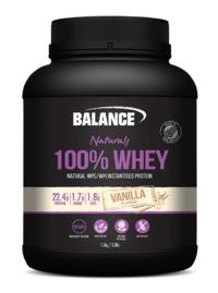 Balance 100% Whey Natural - Vanilla (1.5kg)