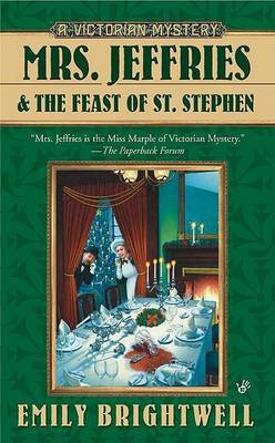 Mrs. Jeffries and the Feast of St. Stephen by Emily Brightwell image