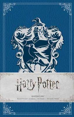 Harry Potter: Ravenclaw Ruled Pocket Journal by Insight Editions