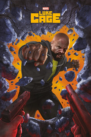 Luke Cage Maxi Poster - Wall Break (882)
