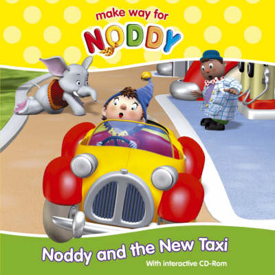 Noddy and the New Taxi Interactive CD-Rom Book by Enid Blyton image