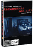 Paranormal Activity on DVD