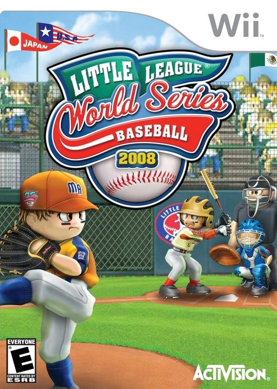 Little League: World Series Baseball 2008 for Nintendo DS