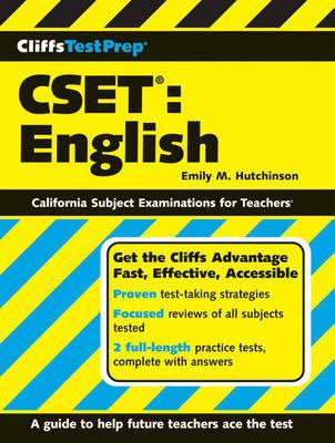 CliffsTestPrep CSET by Emily M Hutchinson