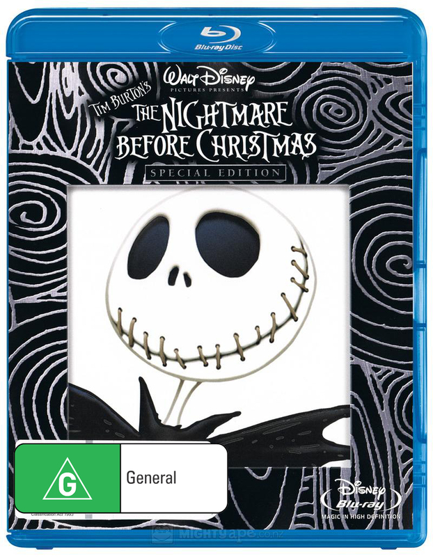 The Nightmare Before Christmas (Special Edition) on Blu-ray
