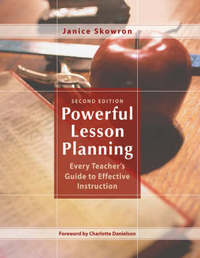 Powerful Lesson Planning by Janice E. Skowron image