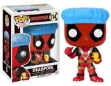 Deadpool - Shower Cap with Ducky Pop! Vinyl Figure