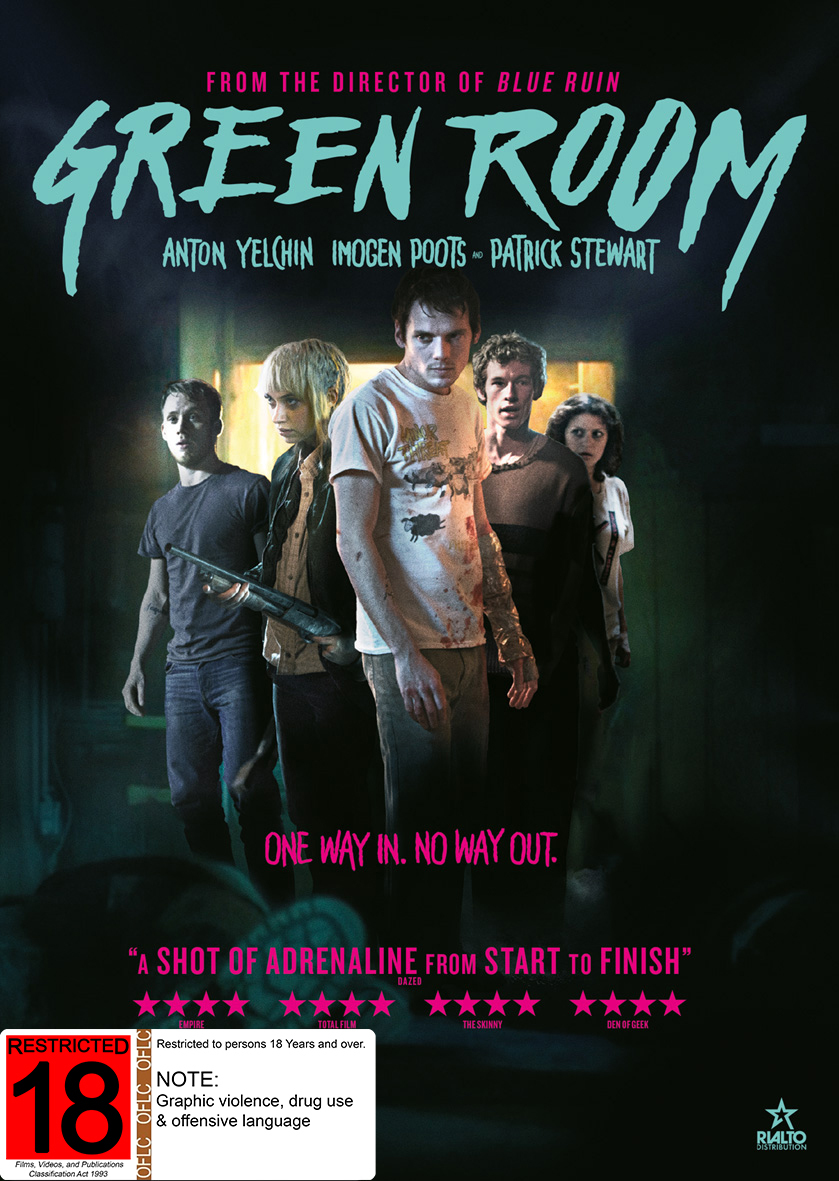 Green Room on DVD image
