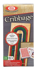 Ideal - Folding Wood Cribbage