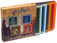 Harry Potter - House Crest Coaster Set