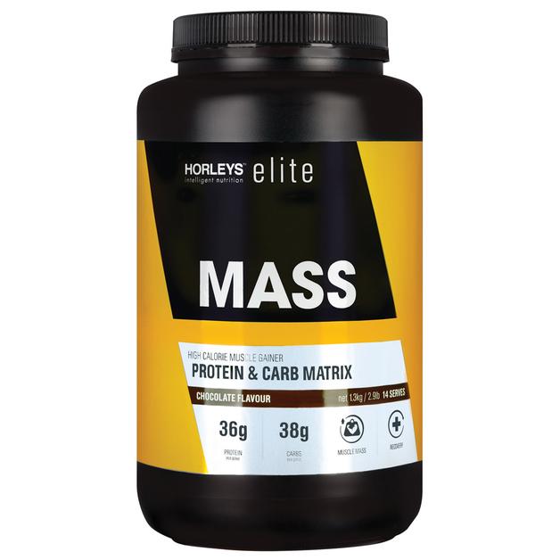 Horleys MASS Protein Powder - Chocolate (1.3kg)