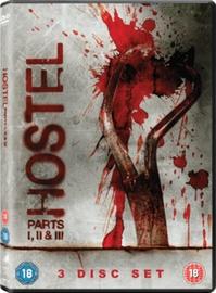 Hostel 1-3 on DVD
