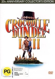 Crocodile Dundee I And II - 20th Anniversary Collector's Edition (2 Disc Set) on DVD image