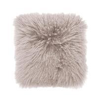 Bambury: Mongolian Lambswool Cushion - Dove (40 x 40cm)