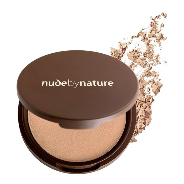 Nude By Nature: Mineral Pressed Powder - Light (10g)
