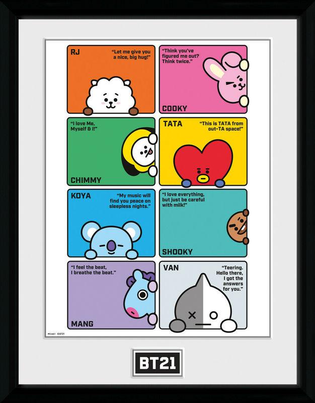 BT21: Compilation - Collector Print (41x30.5cm)