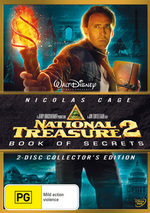 National Treasure 2 - Book Of Secrets (2 Disc Set) on DVD