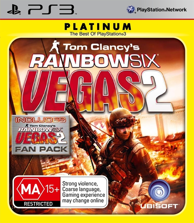 Tom Clancy's Rainbow Six Vegas 2 Complete Edition (Platinum) for PS3