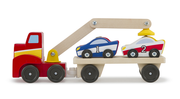 Melissa & Doug: Magnetic Car Loader