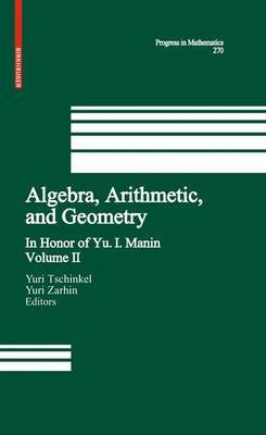 Algebra, Arithmetic, and Geometry image