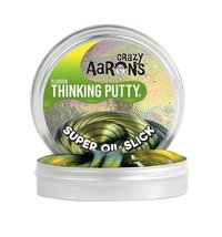 Crazy Aarons Thinking Putty: Super Oil Slick - Mini Tin