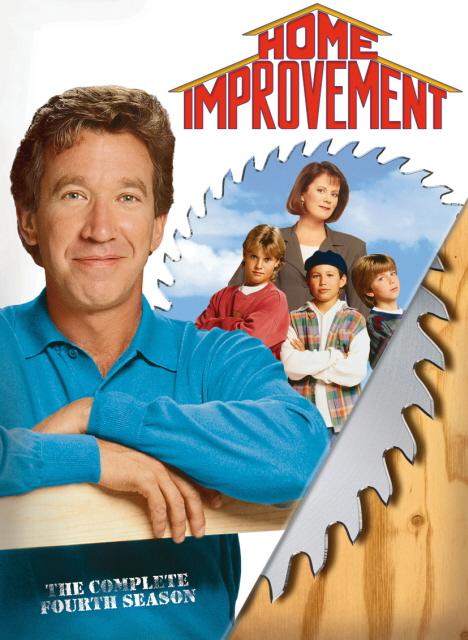 Home Improvement - Complete Season 4 (3 Disc Set) on DVD image