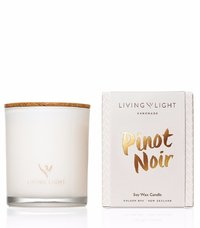 Living Light: Soy Jar Candle (Pinot Noir)