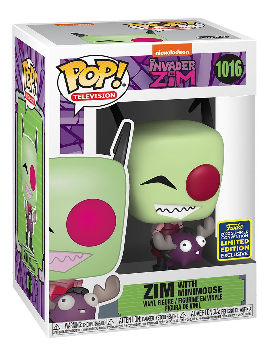 Invader Zim: Zim (with Minimoose) - Pop! Vinyl Figure image