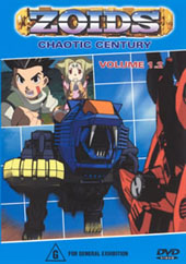 Zoids (Chaotic Century) Vol  1.2 on DVD