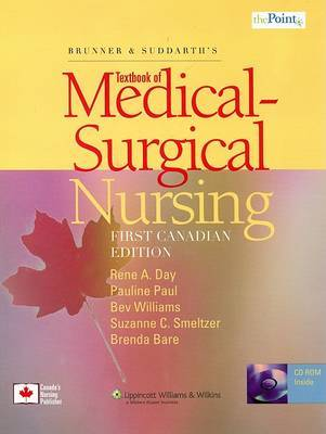 Brunner and Suddarth's Textbook of Medical-surgical Nursing by Rene A Day image
