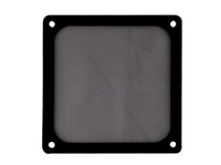 120mm SilverStone FF123 Magnetized Fan Filter (Black)