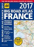 AA Big Road Atlas France 2017