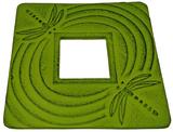 Teaology: Green Dragonfly Cast Iron Trivet