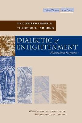 Dialectic of Enlightenment by Max Horkheimer image