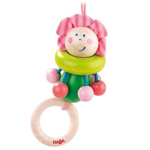 Wooden Toy Flower Fairy Stroller Toy