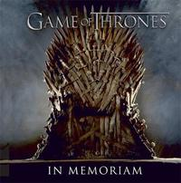 Game of Thrones: In Memoriam by Running Press