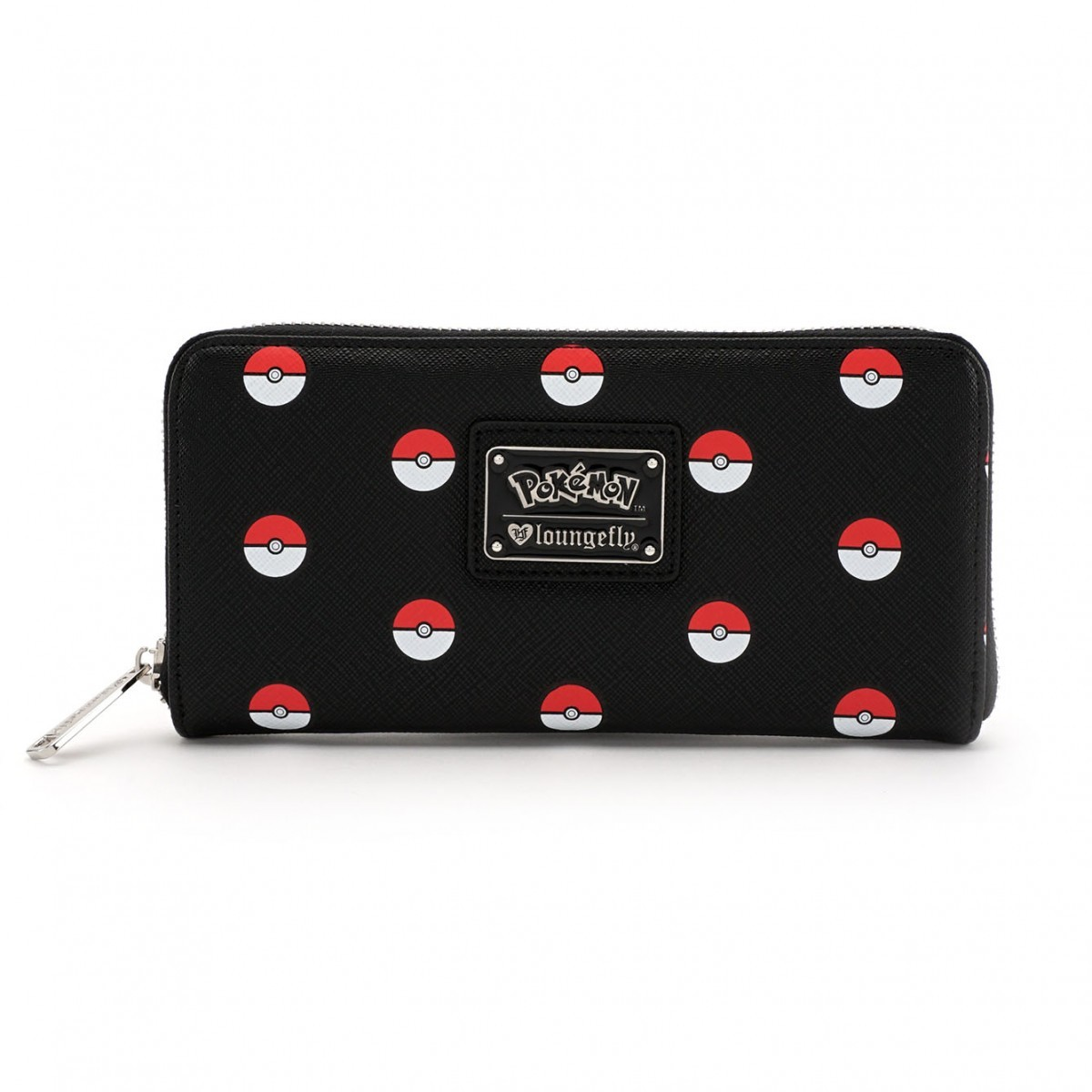Loungefly Pokemon Pokeball Print Zip Around Wallet image