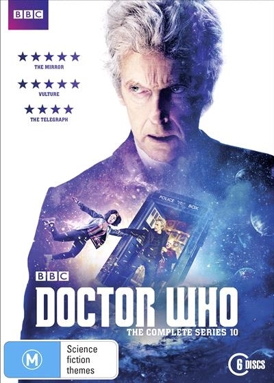 Doctor Who - The Complete Series 10 on DVD