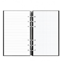 Filofax - Personal Clipbook Classic Notebook - Black