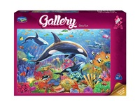 Holdson: 300pce Gallery Series 4 XL Puzzle (Orca Fun)