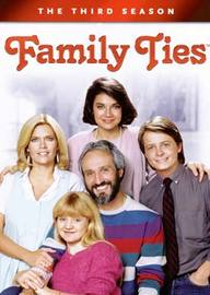 Family Ties - The 3rd Season (4 Disc Set) on DVD